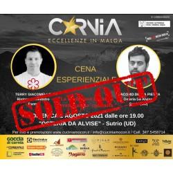 3 - Eccellenze in Malga - Cena a 4 mani, Osteria Da Alvise - 2021